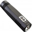 BR10GT Rechargeable Flashlight, Black, 900 lm, 1x 18650