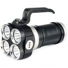 EYE40 Rechargeable Flashlight, Black, 3150 lm, 4x 18650