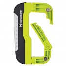LED Carabiner Light, Green,  120 lm, 3 AAA Included
