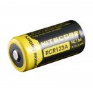 RCR123A Rechargeable Battery, 650mAh