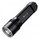 P36 Tactical Flashlight, Black, 2000 lm, 2x 18650