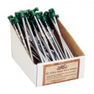 Steel Spike Tent Stakes, 10 in., 50pk