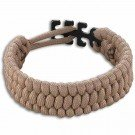 Survival Adjustable Bracelet, One-Size-Fits-All, Tan