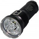 DDR30 Rechargeable Flashlight, Black, 3200 lm, 3x 18650