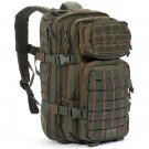 Rebel Assault Pack, Olive Drab w/Red Stitching